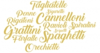 What do the pasta names mean?
